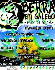 catace BERRA EN GALEGO